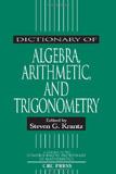 waptrick.com Dictionary Of Algebra Arithmetic And Trigonometry