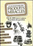 waptrick.com Le Dictionnaire Des Produits Miracles