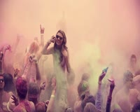 Holi Crowd - Capital C