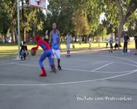 waptrick.one Spiderman Plays Basketball - Amazing Spiderman 2