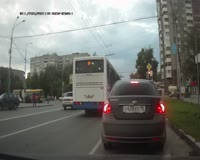 Mercedes C63 AMG Spectacular Drift Best Russian Dash Cam