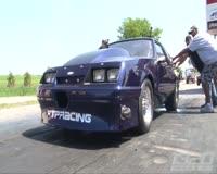waptrick.one Violent Drag Racing WRECK - Crazy GoPro Angle