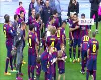 waptrick.one FC Barcelona La Liga 2015 Champions Final Ceremony
