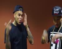 waptrick.one Chris Brown Spray Paints Kings Bedroom - Kingin With Tyga
