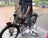 1949 HONDA Type-C Motorcycle