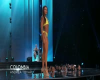 waptrick.one Andrea Tovar Miss Colombia Preliminary Competition Miss Universe 2016