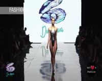 waptrick.one DU AQUA SWIM Los Angeles Art Hearts Fashion Spring Summer 2017
