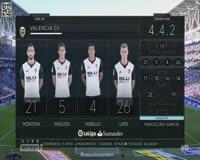waptrick.com Espanyol 0 - 2 Valencia La Liga 2017 2018