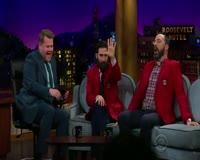 waptrick.com Jason Schwartzman and Tony Hale Love CBS Blazers - Beards