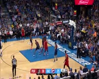 waptrick.com C J McCollum Comes Up Clutch Against The Thunder