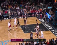 waptrick.com LeBron James Puts On A Show With A Thunderous Jam In Barclays