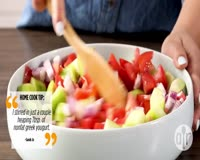 waptrick.com How to Make Good for You Greek Salad - Salad Recipes