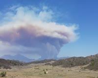 waptrick.one Scary Fast moving brush fire near Trabuco Canyon California - Aug 6 2018