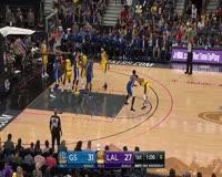waptrick.com The Best of Ingram Kuzma and Ball in Lakers Victory Over Warriors - 2018 NBA Preseason