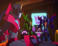 waptrick.com Transformers Cyberverse - Seekers on the Hunt