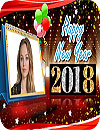 waptrick.com New Year 2018 Photo Frames