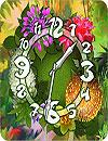 waptrick.one Flower Parade Clock Widget