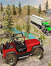 waptrick.com Offroad Jeep Prado Driving Truck Driver Sim