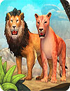 waptrick.com Lion Family Sim Online
