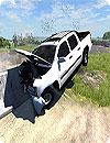 Crash Car Engine Beam Crash Simulator