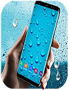 waptrick.one Running Waterdrops Live Wallpaper