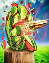 waptrick.com Watermelon Shooter 3D