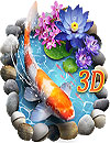 waptrick.one 3D Koi Fish Theme and Lively 3D