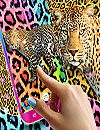 waptrick.one Cheetah Leopard Print Live Wallpaper