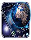waptrick.one 3D Galaxy Space Earth Theme