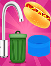 waptrick.com Cooking and Washing Dishes Game