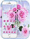 waptrick.one Pink Rose Love Theme