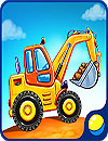 waptrick.com Truck Games for kids House Building Car Wash