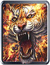 waptrick.one Flame Tiger Live Wallpaper