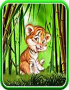 waptrick.one Cute Tiger Cub Live Wallpaper