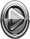waptrick.one Poweramp Skin Silver Glas Deluxe