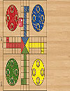 waptrick.com Ludo Parchis Classic Woodboard