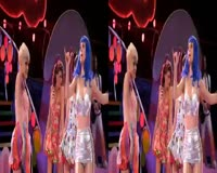 California Gurls 3D Sound Video Clip