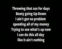 Up Down Only Lyrics Video Clip