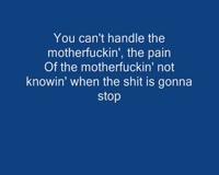 Nobody Only Lyrics Video Clip