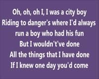 If I Knew Only Lyrics Klip ng Video