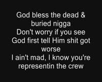 God Bless The Dead Only Lyrics Video Clip