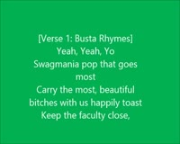 Thank You Only Lyrics Video Clip