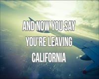 Leaving California Video Clip