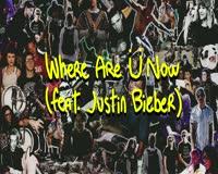 Where Are U Now Video Clip
