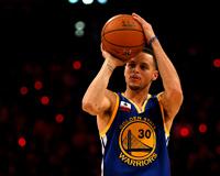 Stephen Curry Beat Half Time Buzzer