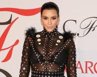 Kim With Interesting Black Dress
