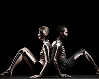 Interesting Body Painting Man and Woman