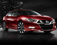 Nissan Maxima Red Evil