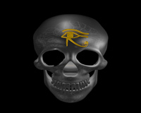 Skull With Eye Of Ra