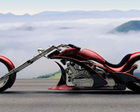 Fantastic Motorcycle Chopper